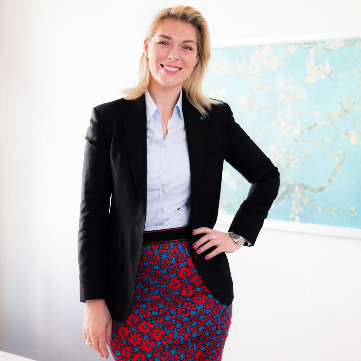 Geschäftsführerin Dr. Helena Melnikov